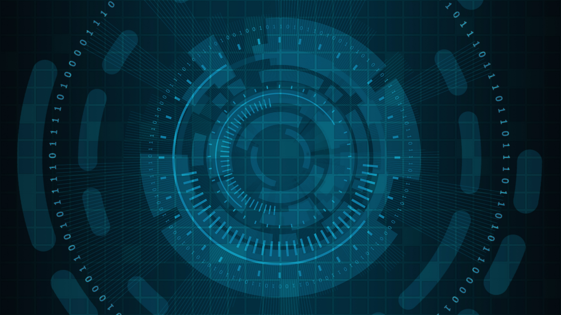 Cyber security digital concept