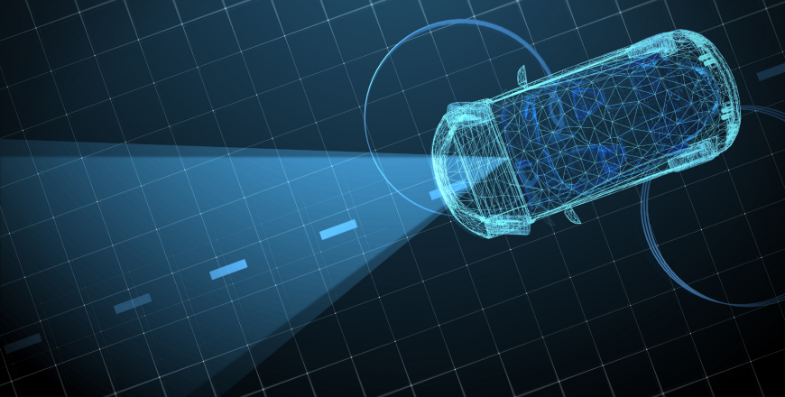 Autonomous vehicle powered by internet of things technology