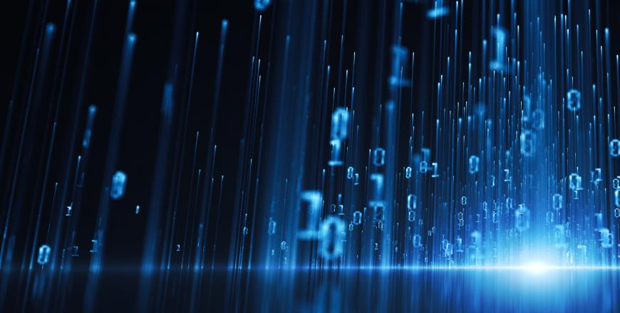 Big data digital concept