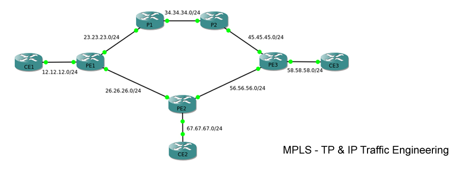 MPLS and IP Traffic Engineering