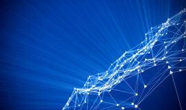 Network optimization and internet technology digital concept