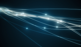 Signal transmission over an optical fibre